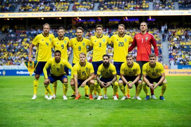 El equipo sueco eliminó a dos gigantes europeos para clasificar | Foto: @FIFAWorldCup