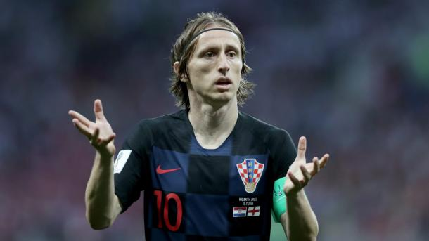 Luka Modric el conductor de los croatas | Foto: FIFA.com