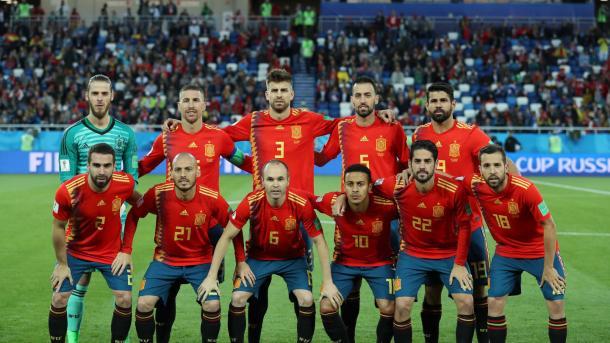 La selección española intentará borrar la imagen del Mundial 2018 | Foto: FIFA.com
