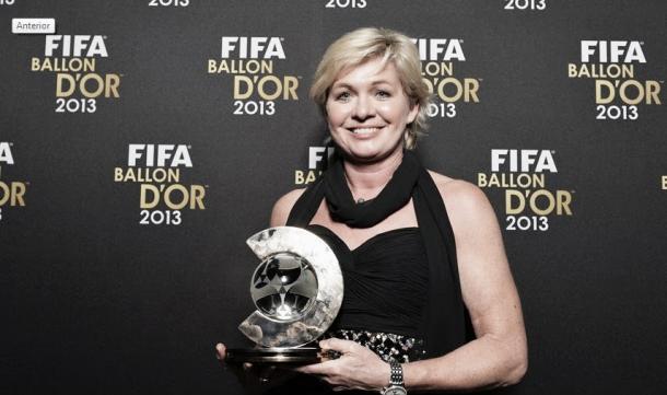 Neid foi eleita a melhor treinadora do mundo em 2013, ano em que a DFB Frauen foi campeã europeia. (FOTO: fifa.com)