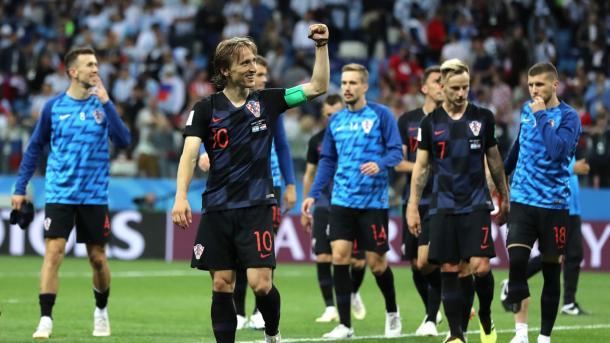 Los croatas pueden llegar como campeones del mundo a su juego contra España | Foto: FIFA.com