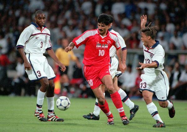 Ali Daei, la leyenda iraní y máximo anotador histórico de la selección asiática | Foto: @FIFAWorldCup