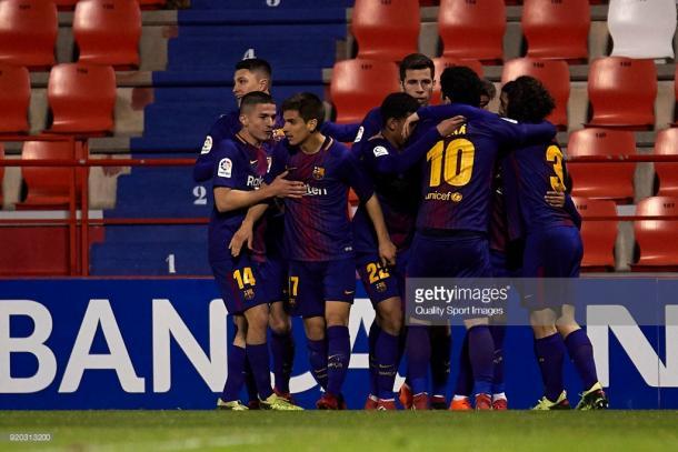 En España, los equipos filiales pueden llegar hasta a Segunda División, como es el caso del FC Barcelona B / Foto: gettyimages