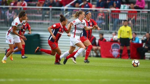 Emily Sonnett will want to keep another clean sheet this week | Source: nwslsoccer.com