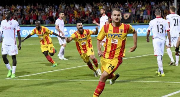 Puscas celebra su gol ante el Carpi que le dio el ascenso |  Foto: Getty Images