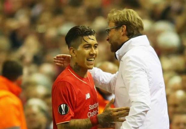 Firmino has become a fan favourite since Klopp's appointment (photo: UEFA)