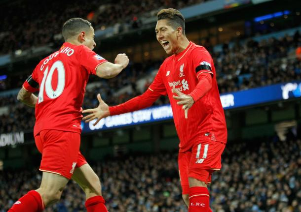 Coutinho and his compatriot, Roberto Firmino, have demonstrated signs of an exciting partnership. (Picture: Getty Images)