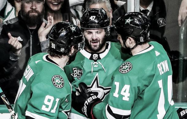 Seguin, Radulov y Benn, el trío mágico de Dallas Foto NHL.com
