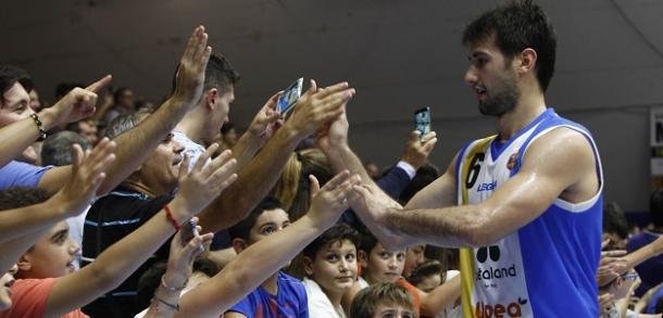 Il saluto di Bruno Fitipaldo - Fonte Orlandina Basket
