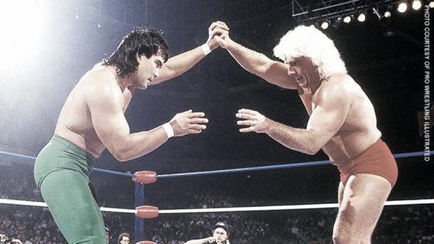 Ric Flair and Ricky Steamboat had one of their many classics on a Clash of the Champions. Photo: wwe.com