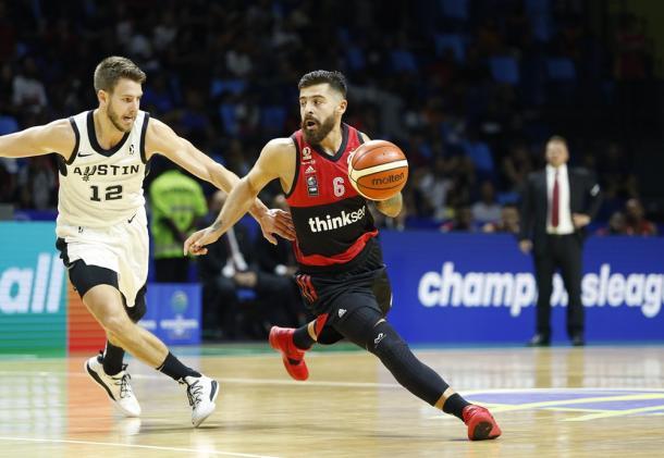 Franco Balbi, la figura del partido. Foto: FIBA
