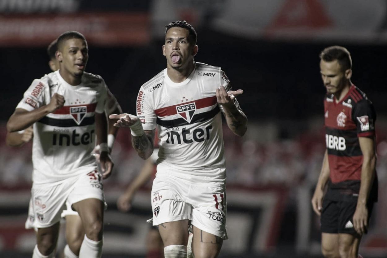 Tricolor venceu últimos quatro jogos contra o Rubro-Negro (Foto: Foto: Miguel Schincariol/São Paulo)