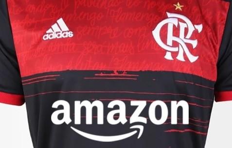 Amazon deve substituir o Banco BS2 no Flamengo. (Foto: Reprodução redes sociais)