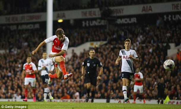 Flamini thundered in the winning goal last season in the third round (photo: Getty Images)