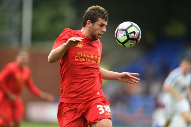 Flanagan has yet to miss a pre-season training session for the Reds. (Picture: Liverpool Echo)