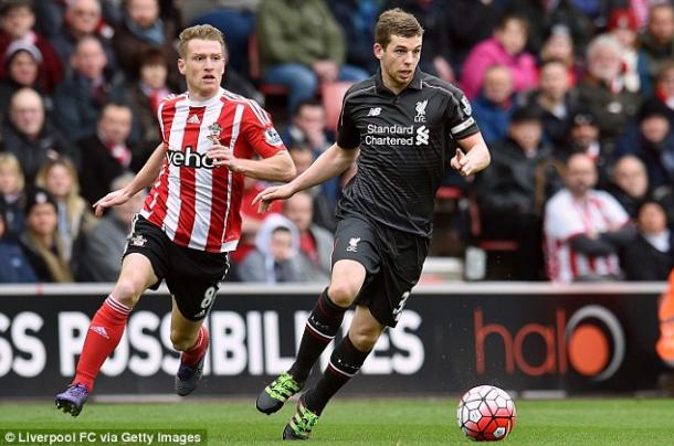 Flanagan captained Liverpool against Southampton in one of eight first-team appearances last season (photo; Getty Images)