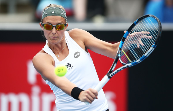 Flipkens will provide a stern test for Konta (Photo by Mark Metcalfe / Getty Images)