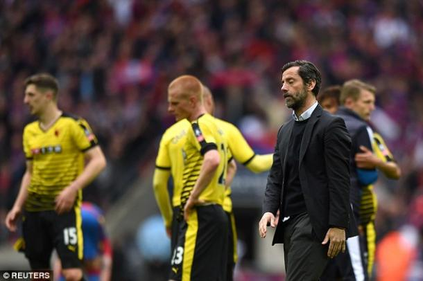 Flores led Watford to a semi-final at Wembley (photo: Reuters)