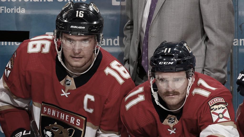 Huberdau y Barkov, el duo dinámico de Florida | Foto: NHL.com