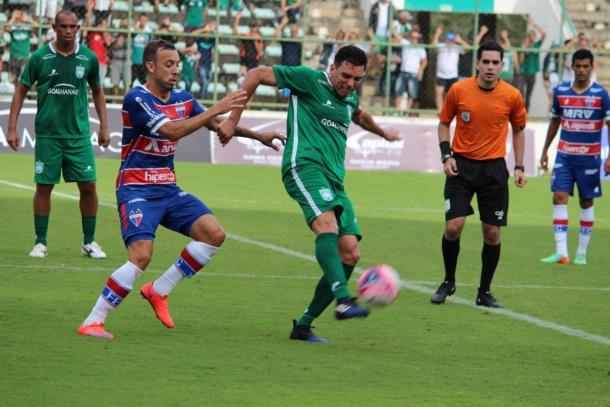 Paulo Sérgio marcou o único gol da segunda etapa | Foto: Divulgação/SE Gama