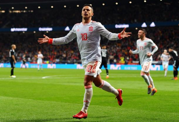 Thiago também deixou o dele   Foto: Denis Doyle/Getty Images