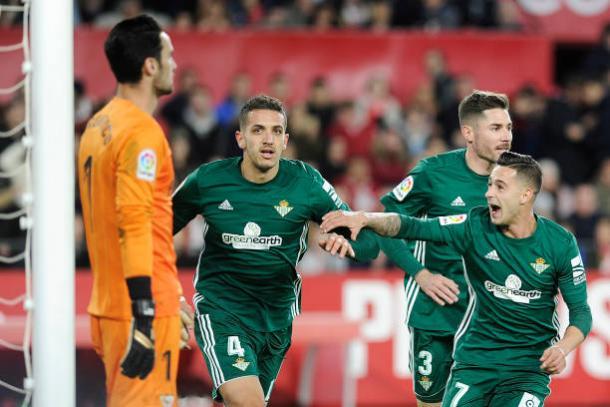 Feddal marcou um dos gols do triunfo | Foto: Cristina Quicler/Getty Images