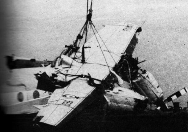 Fokker F27 que transportava o Alianza Lima caiu no Oceano Pacífico (Foto: Reprodução / Internet)