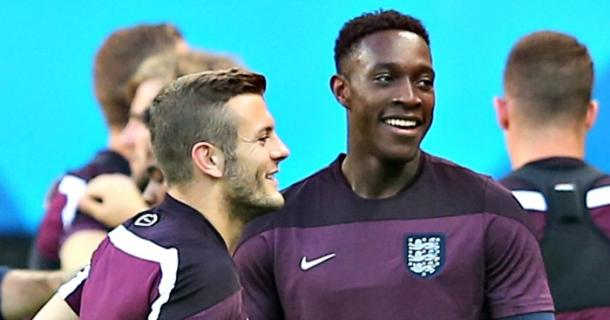 Englishmen Wilshere and Welbeck will hope to be at the Euro's together. Source: football365