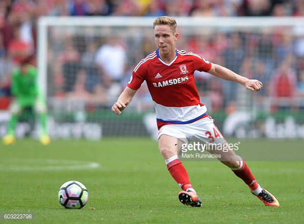 Adam Forshaw has arguably been Middlesbrough's best player this season | Photo: Getty