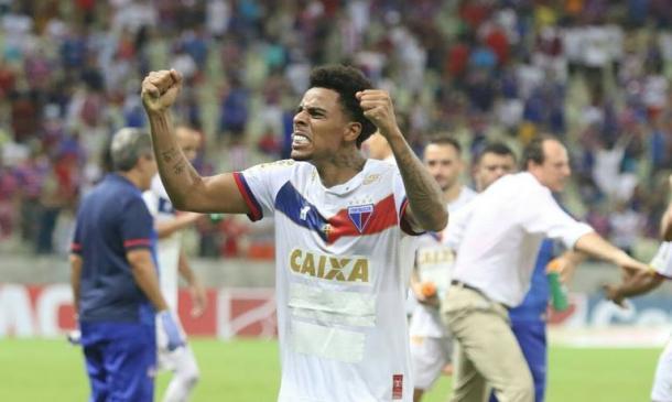 Gustagol é a grande esperança de gols do clube cearense nessa temporada. (Foto:Divulgação/Fortaleza EC)