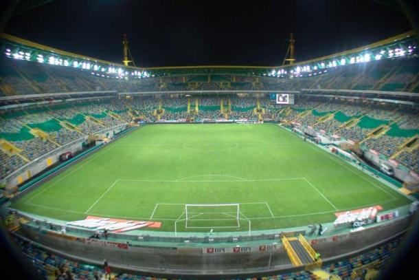 O estádio de Alvalade é o palco do encontro desta noite (Foto: Fórum SCP)