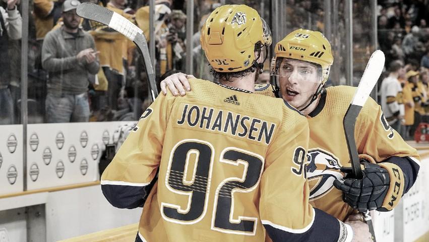 Nashville necesita la mejor versión de Johansen y Duchene | Foto: Getty Images
