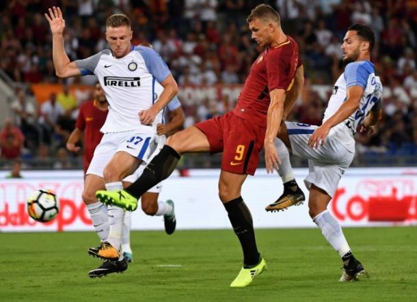 Il gol del vantaggio della Roma | Forzaroma.info