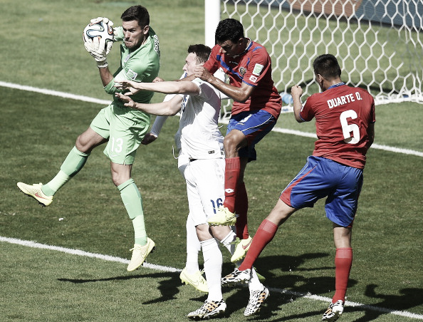 Foster kept a clean sheet for England against Costa Rica (Getty Images)