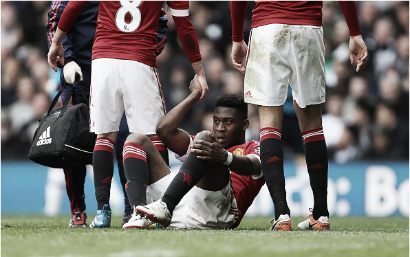 Fosu-Mensah was brilliant against Suprs, but got injured before the carnage (Photo: Catherine Ivill / Getty Images)