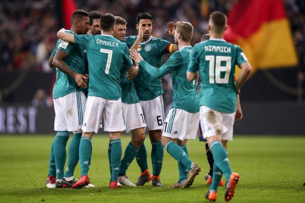 Alemania buscará retener el titulo de campeón obtenido en Brasil 2014 | Foto: @DFB_Team_ES