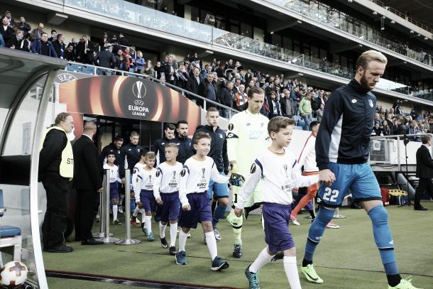 Salida para competir en la UEFA Europa League   Foto: Página Oficial TSG Hoffenheim
