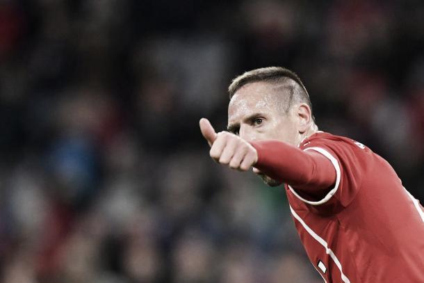 Franck Ribery   Foto: Twitter Bayern Múnich (@FCBayernES)