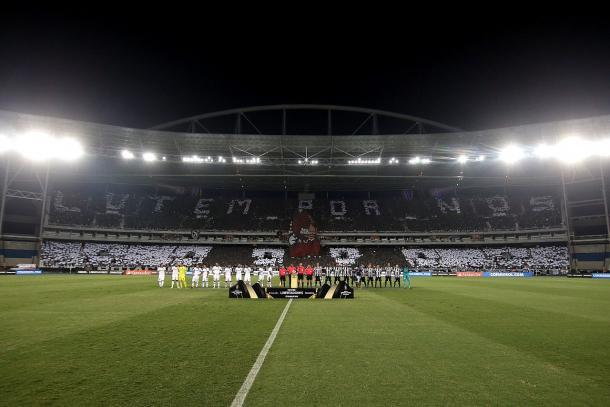 Caldeirão alvinegro na Libertadores 2017 (Foto: Vitor Silva / SS Press / Botafogo)