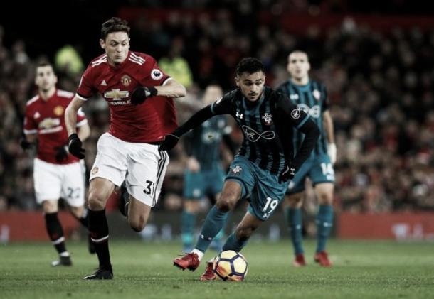 Manchester United y Southampton no lograron quebrar la paridad en el marcador   Foto: Premier League