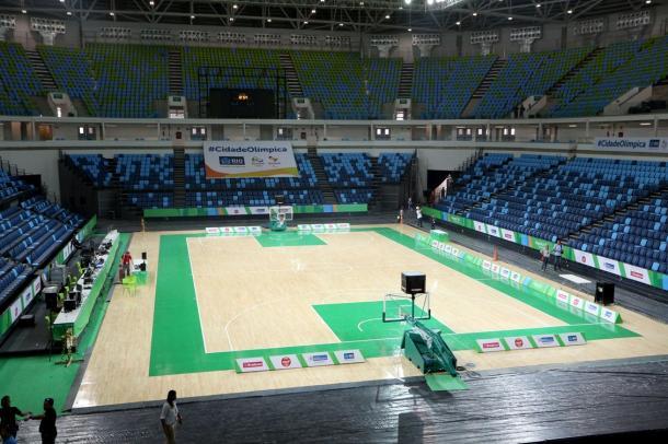 Arena Carioca será o grande palco do basquete nas Olimpíadas (Foto: Beth Santos/Prefeitura do Rio de Janeiro)