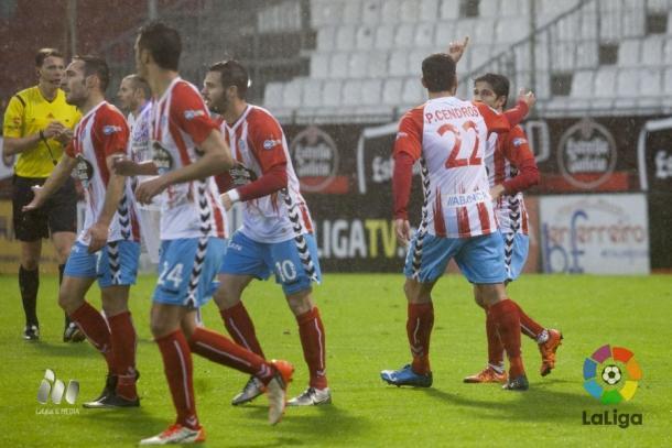 Los gallegos cayeron por 2-3 contra el Numancia. (Imagen: LaLiga).