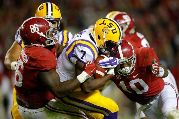 Both Leonard Fournette and Reuben Foster have chance to go in the top 10 after facing off in the SEC | Kevin C. Cox, Getty Images