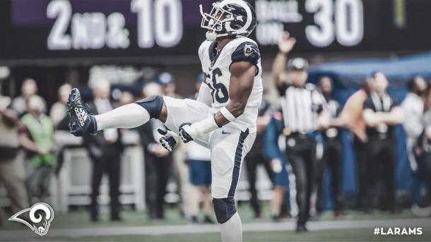 Los Rams tienen intencion de retener a Dante Fowler Jr. (foto Rams.com)