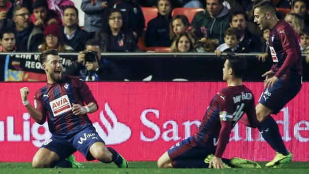 L'Eibar umilia il Valencia. 0-4 al Mestalla (Fonte foto: Sport.es)
