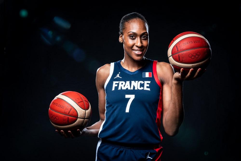 Sandrine Grude / Source : FIBA