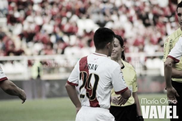Fran Beltrán se ha asentado rápidamente en el primer equipo. Foto: María Olmo (VAVEL España)