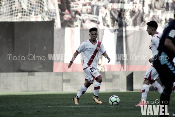 Fran Beltrán en medio de un partido | Fotografía: María Olmo
