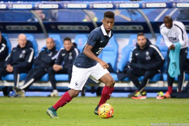 Coman has flourished under Pep Guardiola, and now wants to make an impact at the Euro's (photo: IconSport)