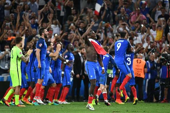 The nation came together on the night of the semi-final (photo: Getty Images)